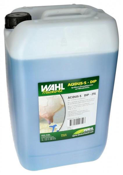 WAHL-Hausmarke Dipmittel - ACIDUS-S - versch. Größen