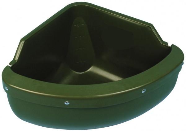 Eckfuttertrog 31 Liter mit Auswurfkante