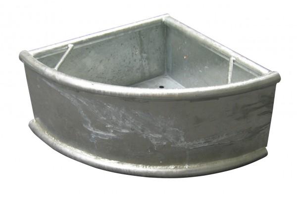 Dreiecktrog Metall rund