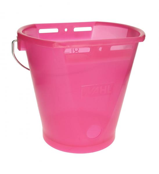 Hiko Kälbertränkeeimer transparent, Pink