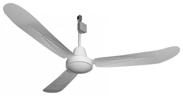 DECKEN-VENTILATOR gebogene Flügel, 44 cm
