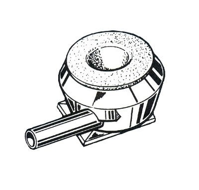 Melkeimerdeckel-Adapter Pulsator L02