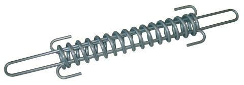 STAHLSPANNFEDER verzinkt für Draht 2,5mm