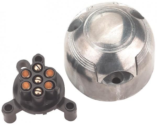 Erich Jaeger STECKDOSE 7-polig mit Metallgehäuse