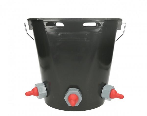 Lämmertränkeeimer 3 Stellen Kunststoff