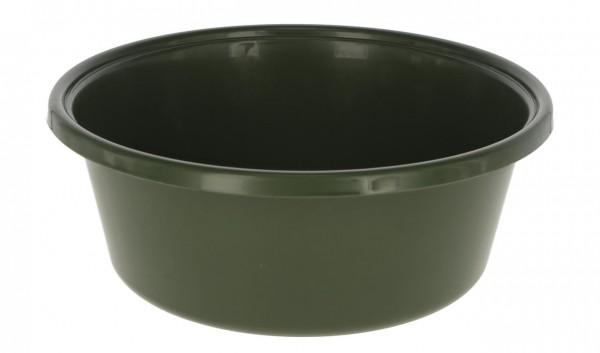 Kerbl Futterschale 6 Ltr. Kunststoff, olivgrün