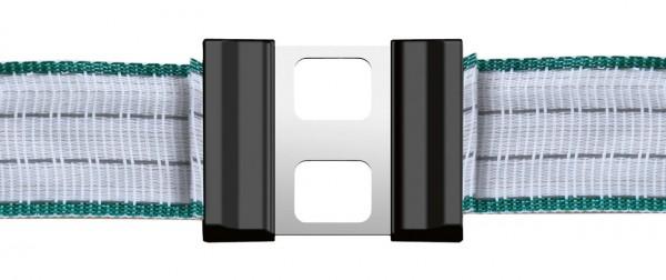 Litzclip Bandverbinder 40mm LITZCLIP2.0 Edelstahl