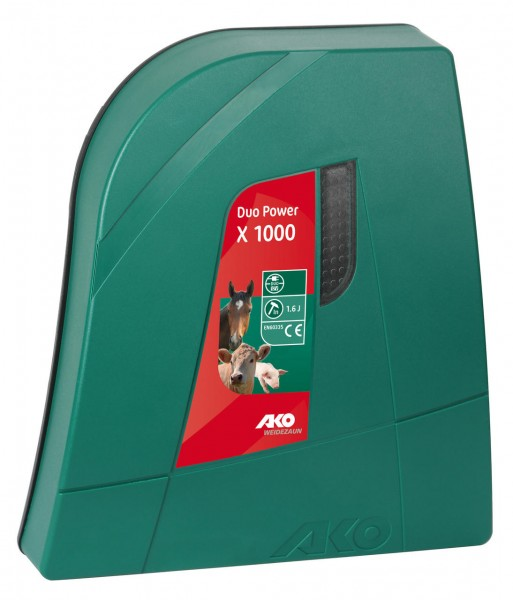 AKO DUO POWER X1000 12V/230V Weidezaungerät