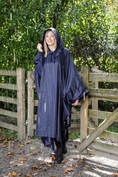 Covalliero Regenponcho für Erwachsene unisize