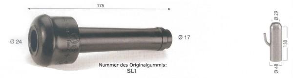 WAHL-Hausmarke FULLWOOD Mod. 20125 , pass. kurz