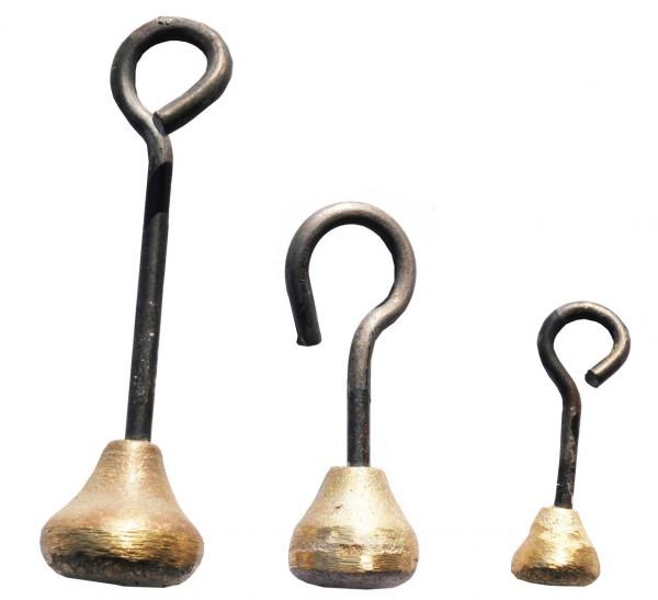 Schellen u. Glockenschwengel gebogen - versch. Größen