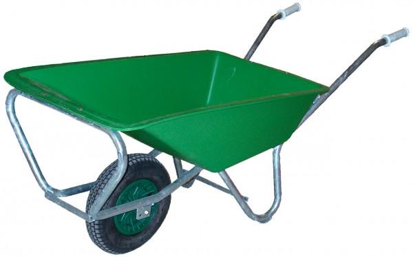 Schwarz Einradschubkarren 170 Liter - PE170-1
