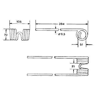 ZINKEN - KUHN GF 22N, GF 440M/P/T